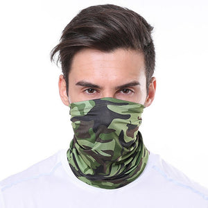Men's Camouflage Bandana Face Mask