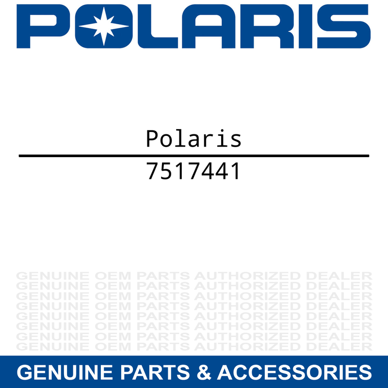 Polaris 7517441 Hardware Sportsman RZR Scrambler Touring 1000 120 340 440 450
