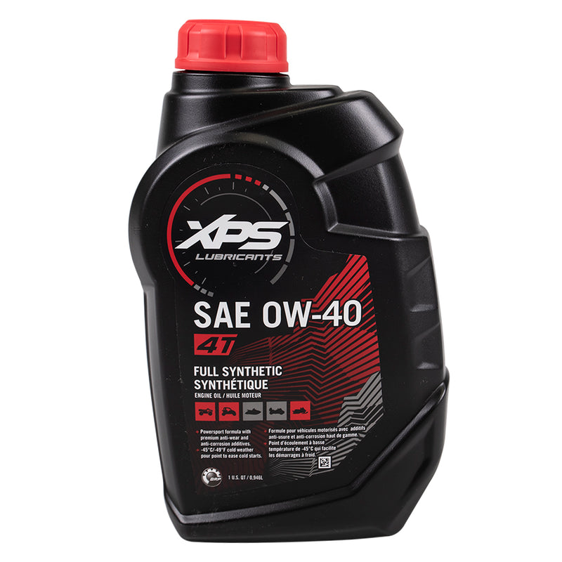 Can-Am 1 Quart XPS 4-Stroke 0W-40 4T Full Synthetic Engine Oil OEM BRP Ski-Doo Sea-Doo 779139 (4362170695761)