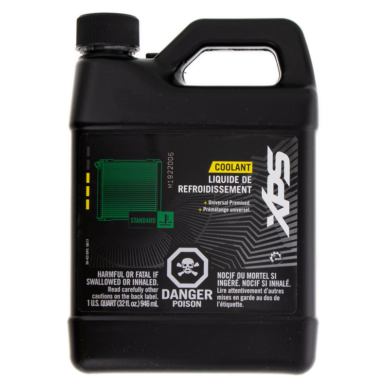 BRP 1 Quart Pre-Mixed Green Antifreeze Engine Coolant Can-Am Sea-Doo Ski-Doo OEM 779149 (4362157162577)