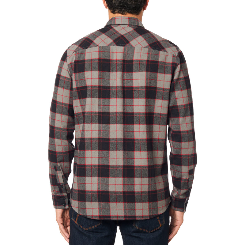Fox Racing -  Traildust 2.0 Flannel Soft Classic Plaid Long Sleeve Layering Jacket