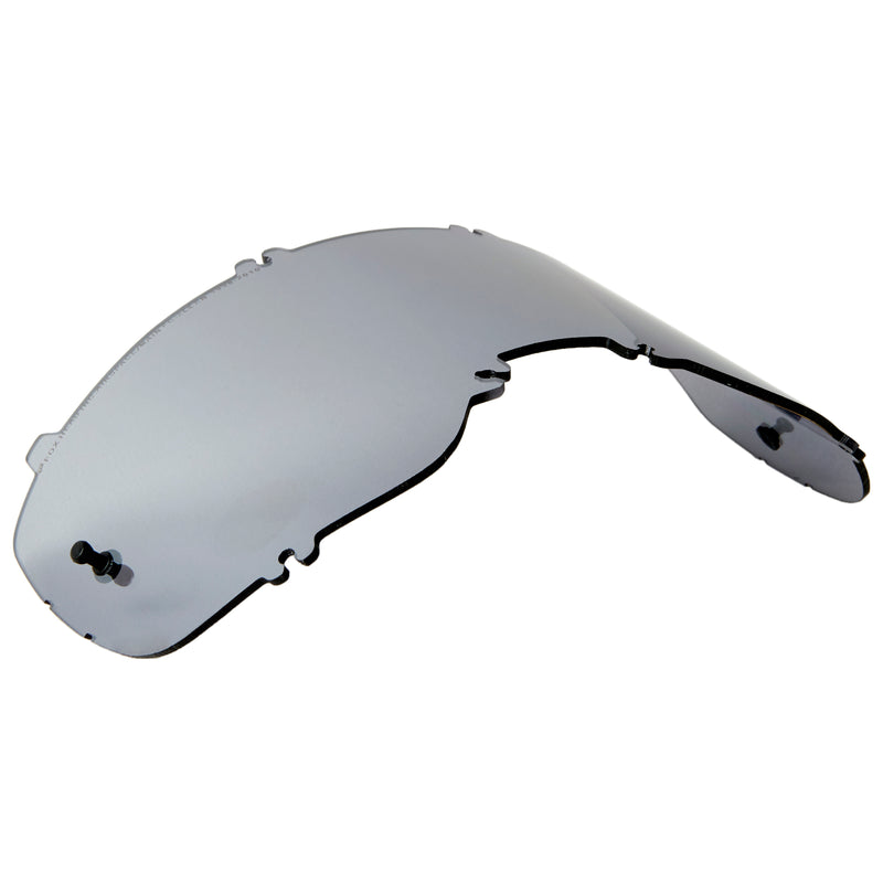 Fox Racing Airspace/Main II Injected Mirror Lens Chrome One Size 25360-010-OS