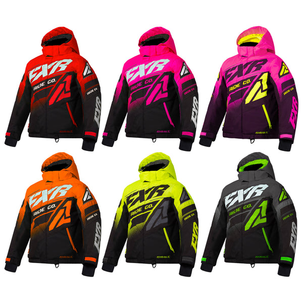 Youth FXR Boost Jacket F.A.S.T. Thermal Flex Insulate Durable HydrX Coated Shell