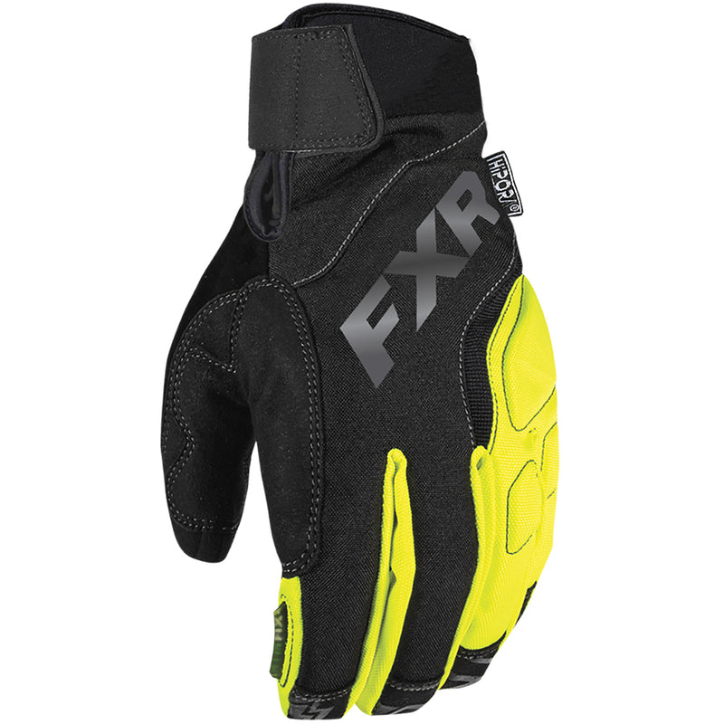 FXR  Attack Lite Glove Waterproof Microfleece Thinsulate Lining Durable Snocross