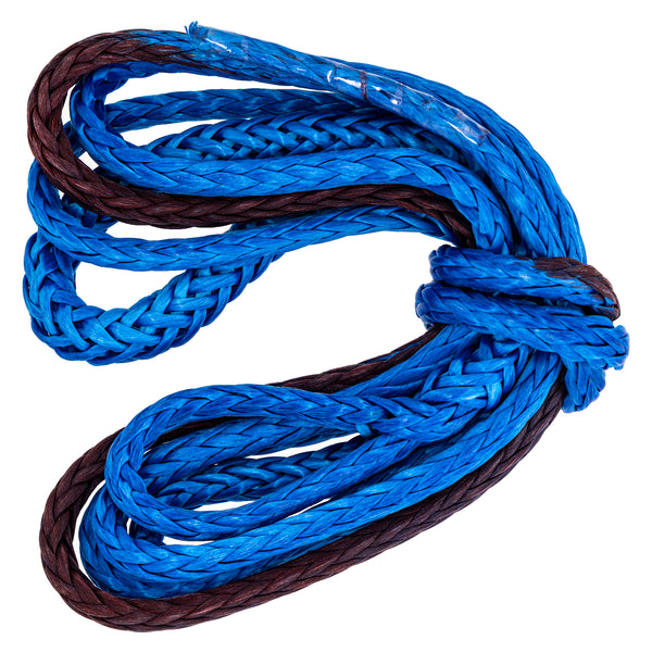 "Polaris 8' x .25"" Braided Plow Winch Rope 2878483 for 2500LB & 3500LB Winches OEM (4371808321617)"