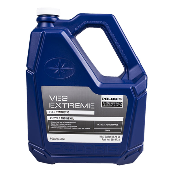 Polaris 1 Gallon of Genuine OEM Snowmobile VES Race Synthetic 2-stroke Engine Oil 2883732 (4355167453265)