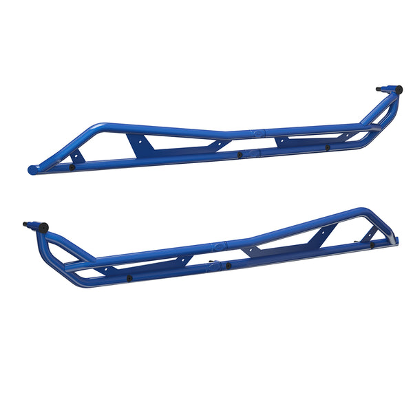 4-Seat Kick-Out Metallic Blue Rock Sliders 2883988-751 Polaris 2020 RZR PRO XP 4 (4402773885009)