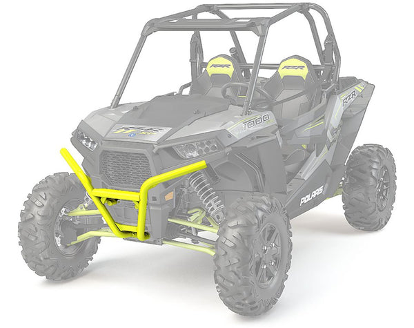 Polaris Genuine OEM Lime Squeeze Low Profile Front Bumper Fits 2014-2019 RZR Turbo 4 900 1000 2881583-630 (4355518333009)