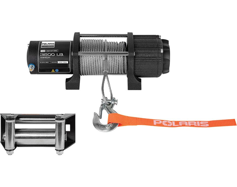 Polaris 3500lb Heavy Duty Winch 2881671 Fits 2014-2020 RZR XP S 4 900 1000 EPS XC Turbo OEM (4355390079057)