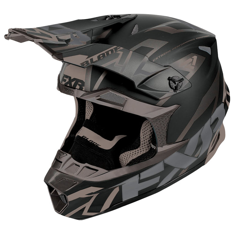 FXR -  Blade Vertical Helmet Fidlock Super Lite Composite Snowmobile Racing