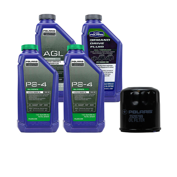 Polaris 2 Quarts PS-4 Oil and Fluid Change Kit Sportsman 300 400 450 500 570 (4408915624017)