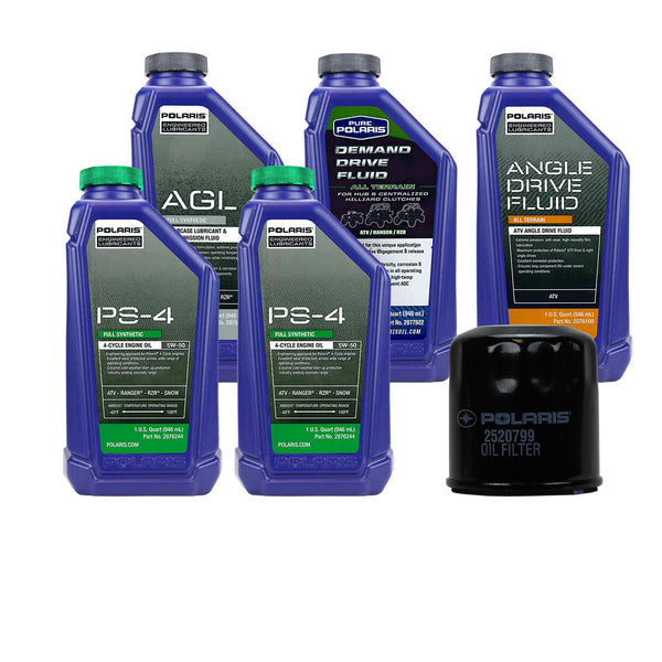 Polaris 2 Quarts PS-4 Oil and Fluid Change Kit (4408921882705)