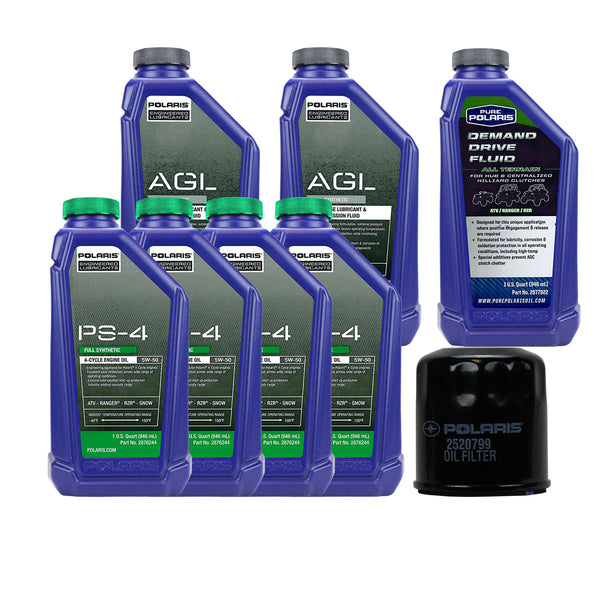 Polaris 4 Quarts PS-4 Oil and Fluid Change Kit (4408915689553)
