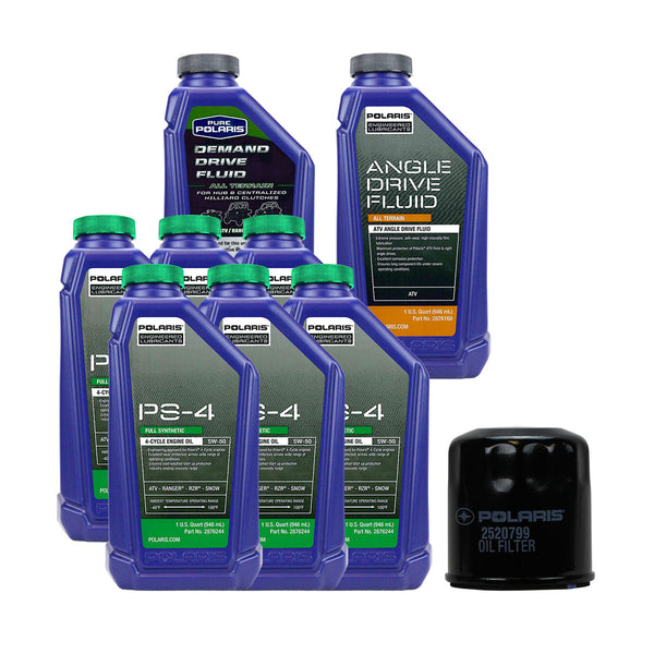 Polaris 6 Quarts PS-4 Oil and Fluid Change Kit (4408921915473)