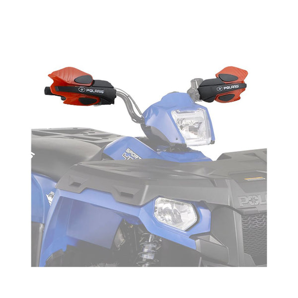 Polaris Indy Red Hand/Wind Guards 2876845 1993-2020 Sportsman 400 500 570 850 1000 SP XP Touring OEM (4355804954705)