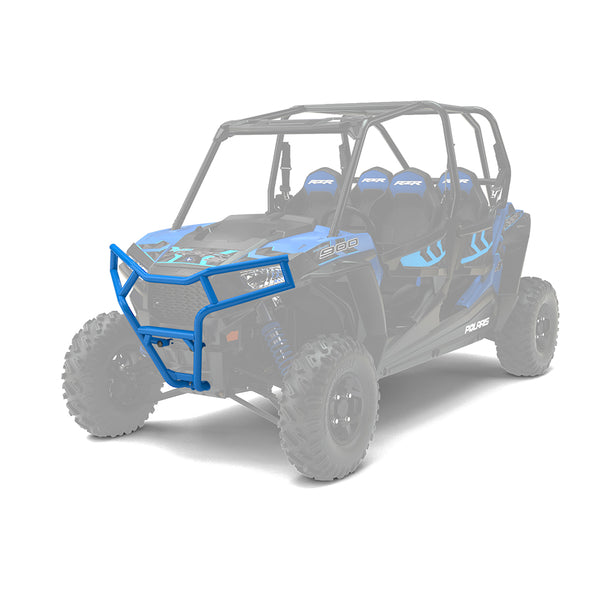 Polaris Genuine OEM Velocity Blue Front Deluxe Bumper Fits 2014-2019 RZR 900 1000 XP 4 S XC Turbo 2881591-689 (4355479109713)