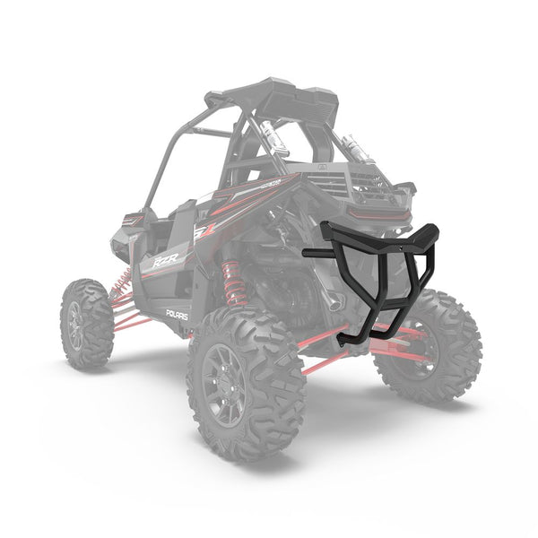 Polaris Matte Black Extreme Duty Rear Bumper 2882694-458 2018-2019 RZR RS1 OEM (4399192801361)