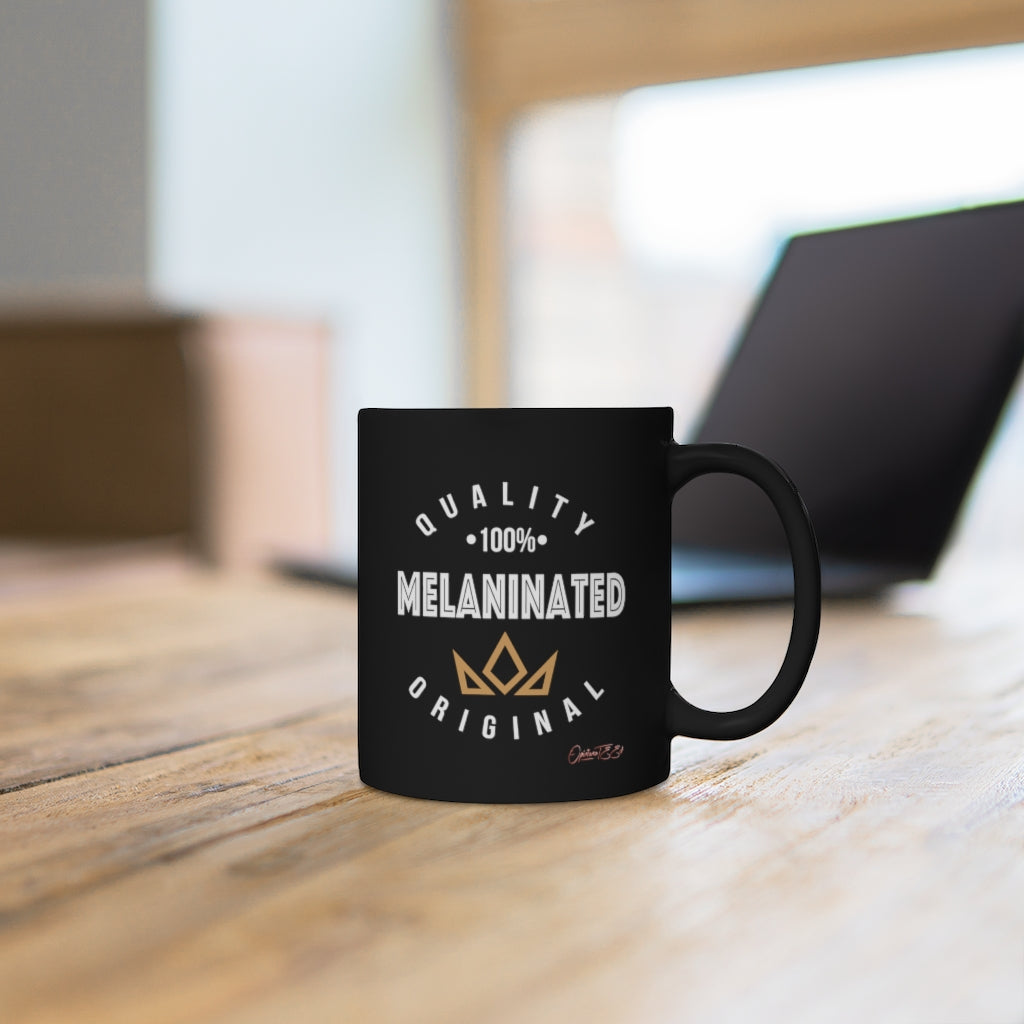 100% Melaninated Mug - Black