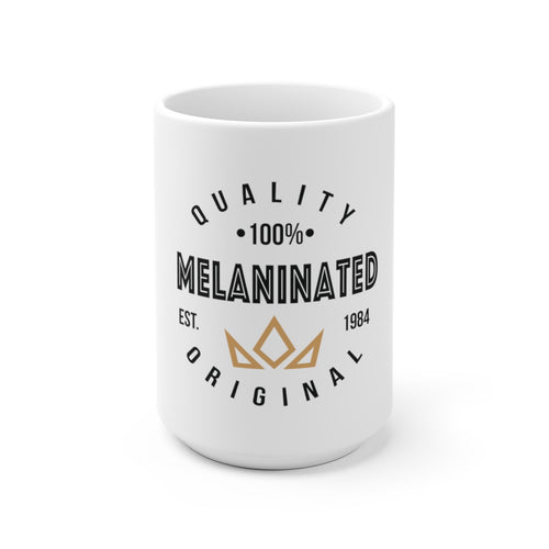 Melaninated Mug - White