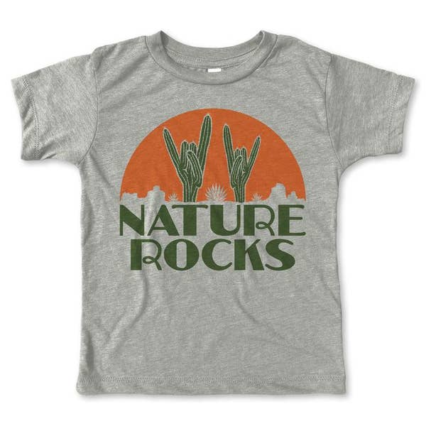 Nature Rocks Tee - My Sweet Babboo