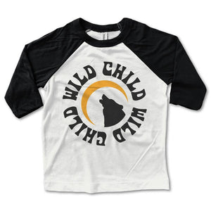 Wild Child Baseball Tee - My Sweet Babboo