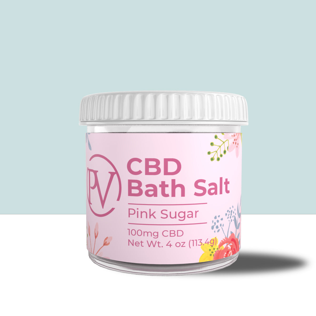 Pink Sugar Bath Salt 100mg