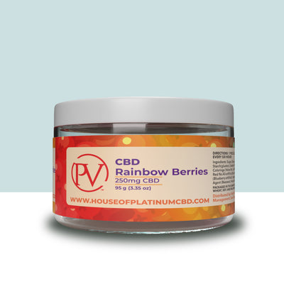 Rainbow Berries Gummy 250mg CBD