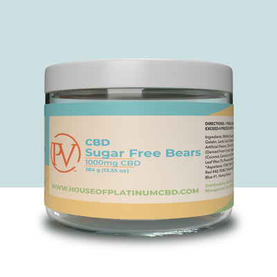Sugar Free Bears 1000mg CBD