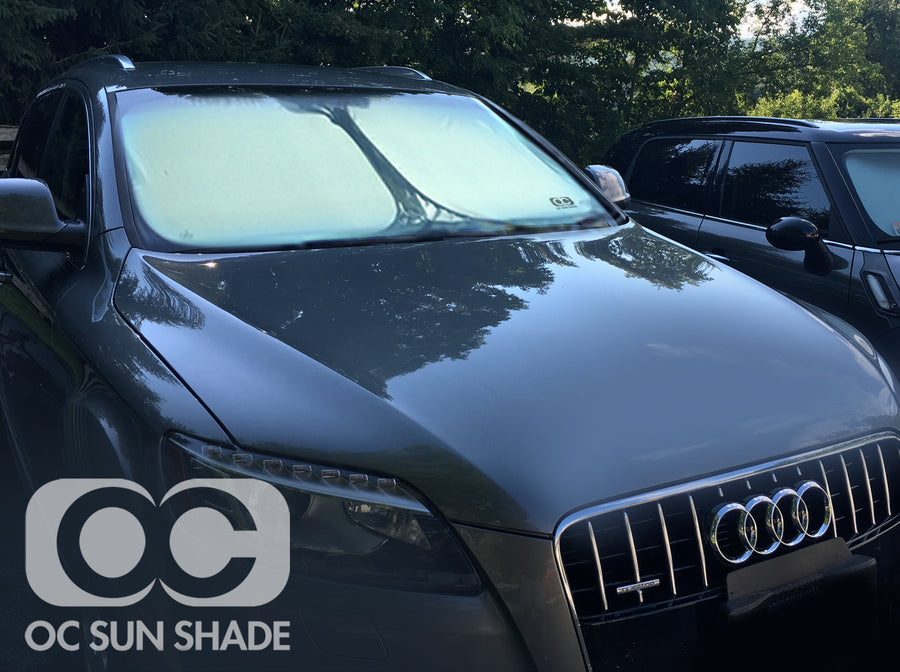 OC Sun Shade on Audi Q7