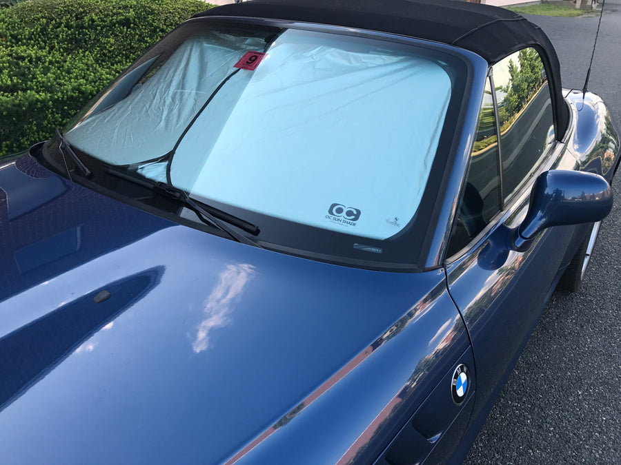 OC Sun Shade on a BMW Z3