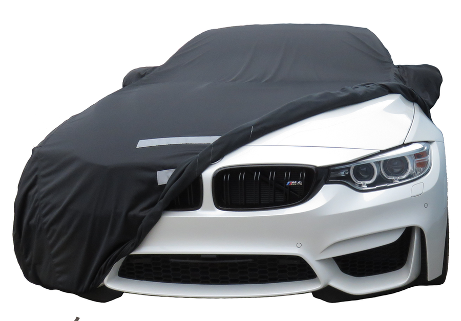 FS15696F5 Black Covercraft Custom Fit Car Cover for Select BMW 5 Series Touring Models Fleeced Satin