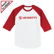 Load image into Gallery viewer, Colorblock Raglan Jersey Royal or Red