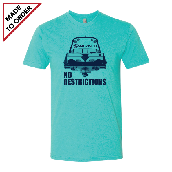 Tahiti Blue No Restriction Tee