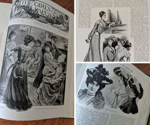 Livre ancien Girl's Own Annual  /  Book 1902