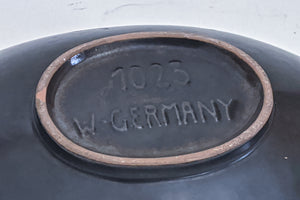 Plat West Germany poterie
