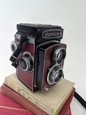 Caméra Yashica A Rouge/Yashica A Red Camera