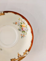 Tasse à thé fleurie antique boho decor /  Antique floral teacup boho decor