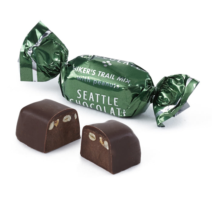 Hiker's Trail Mix Dark Chocolate Truffle by Seattle Chocolate