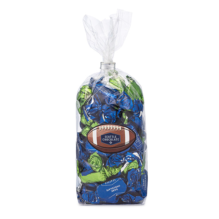 Seattle Chocolate Football truffle gift bag