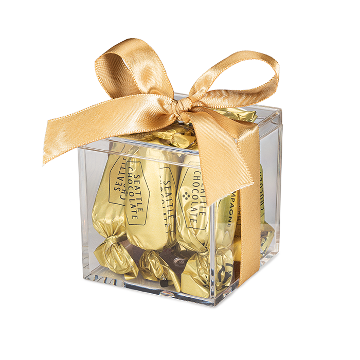 Champagne Favor Box