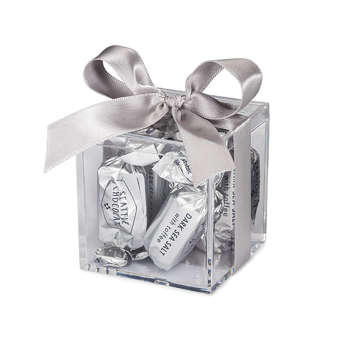 Dark Sea Salt Toffee Favor Box