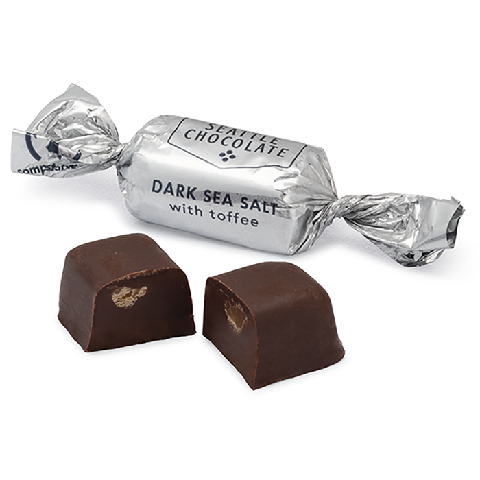 Dark Sea Salt Toffee Truffles (5oz)