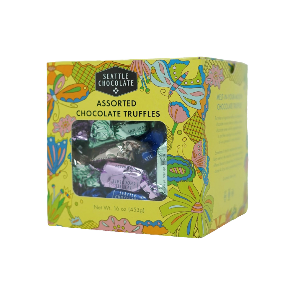 Flower Power Truffles Gift Box (16 oz)