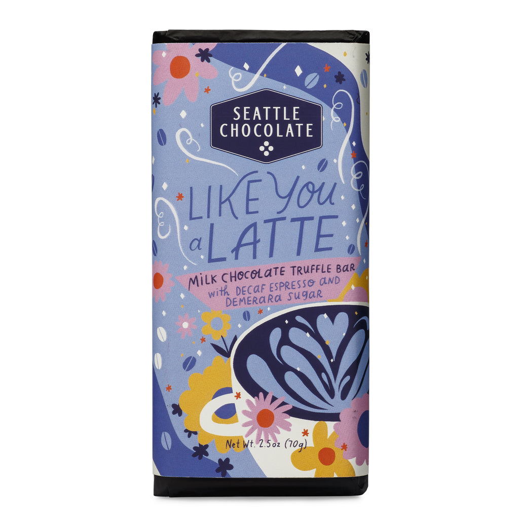 Like You a Latte Milk Chocolate Truffle Bar