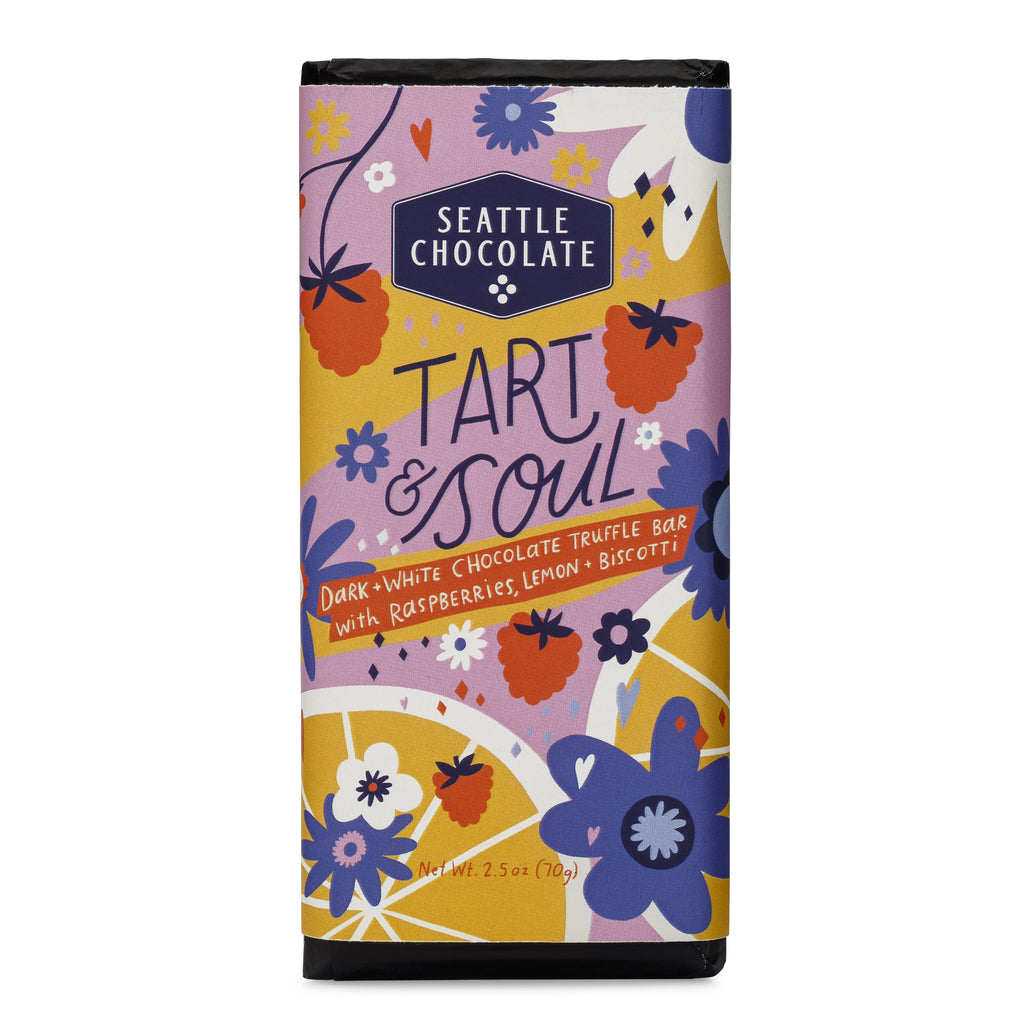 Tart & Soul White and Dark Truffle Bar