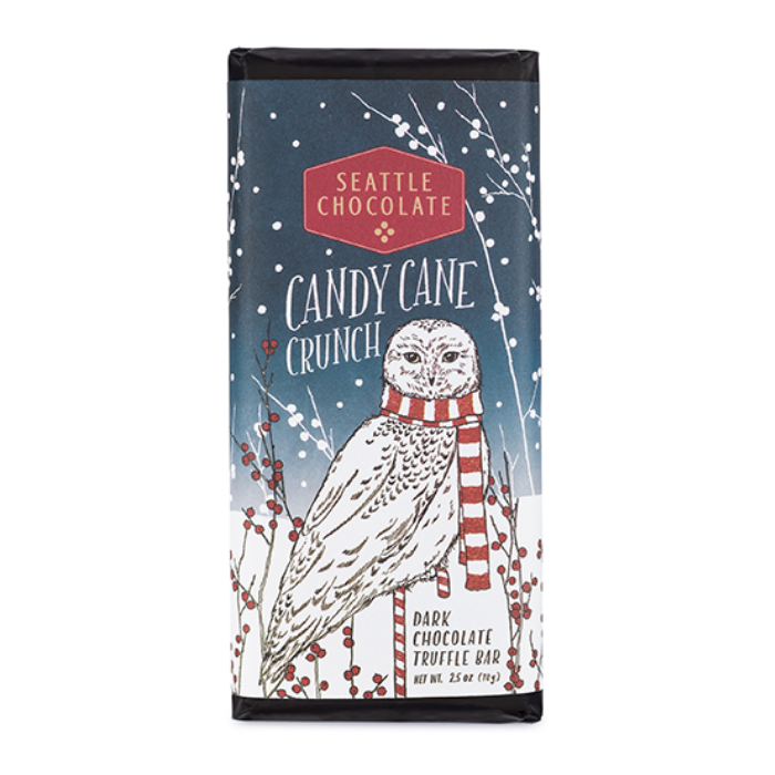 Candy Cane Crunch Truffle Bar