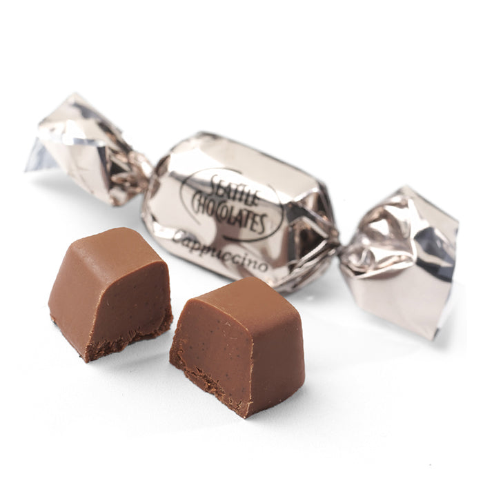 Seattle Chocolates milk chocolate Cappuccino Crunch truffle