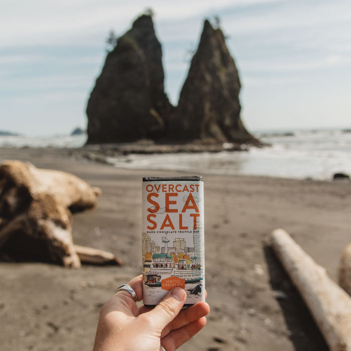 Overcast Sea Salt Truffle Bar