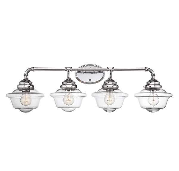 Savoy House 8-393-4-11 Fairfield Four Light Bath Bar