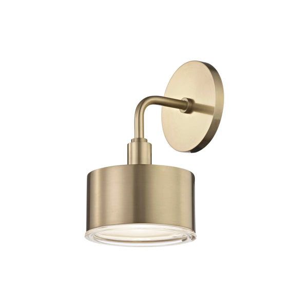 Mitzi H159101-AGB Nora One Light Wall Sconce